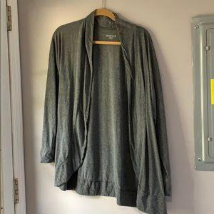 Danskin grey cardigan